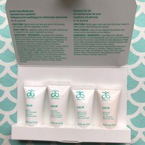Arbonne Calm Skincare Sample